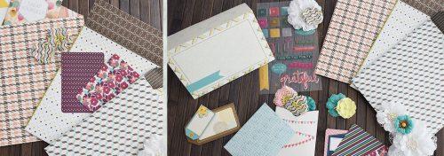 sets de pochettes scrapbooking à créer embellissements