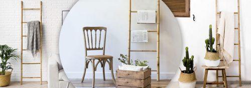 échelles en bambou