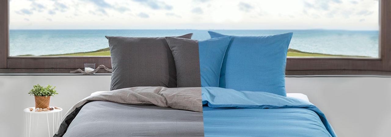 parures de lit pour 2 personnes 100 coton nozarrivages. Black Bedroom Furniture Sets. Home Design Ideas
