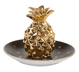 porte bijoux ananas pois tendance deco