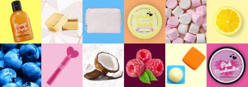 produits de soin parfumés pour le corps