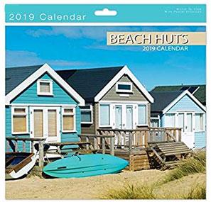 beach huts calendar 2019