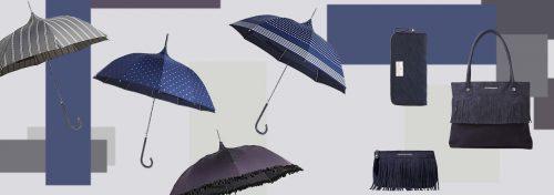 Parapluies et petite maroquinerie