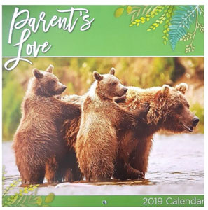 parents love wild calendrier 2019