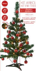 Sapin De Noel Deja Decore Sapin de Noël lumineux déjà décoré   Nozarrivages