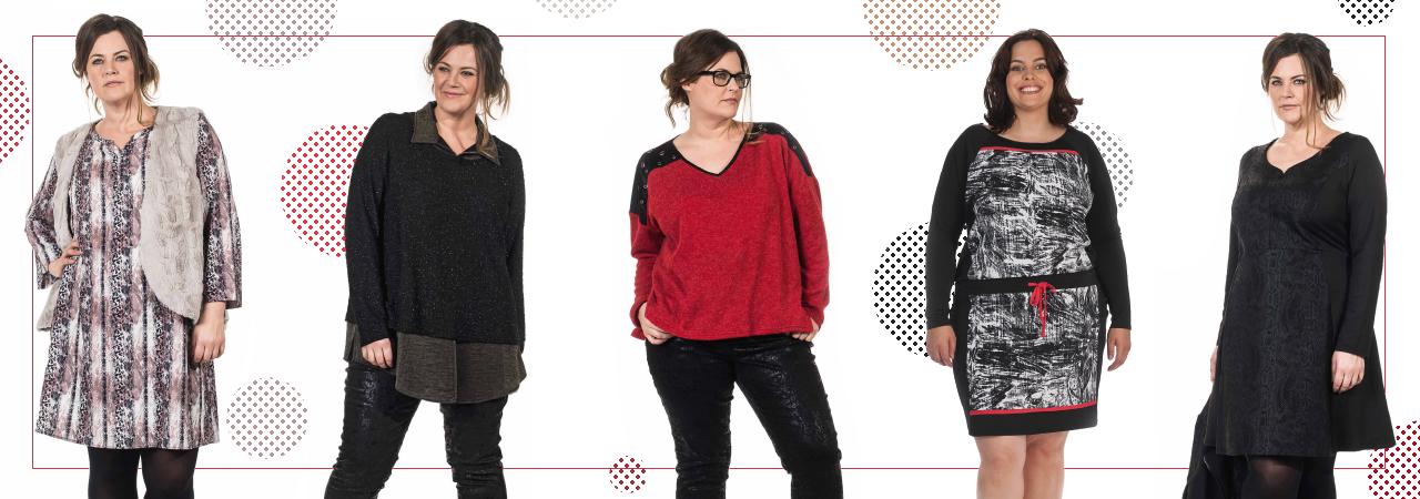 Vêtements grande taille pour femmes