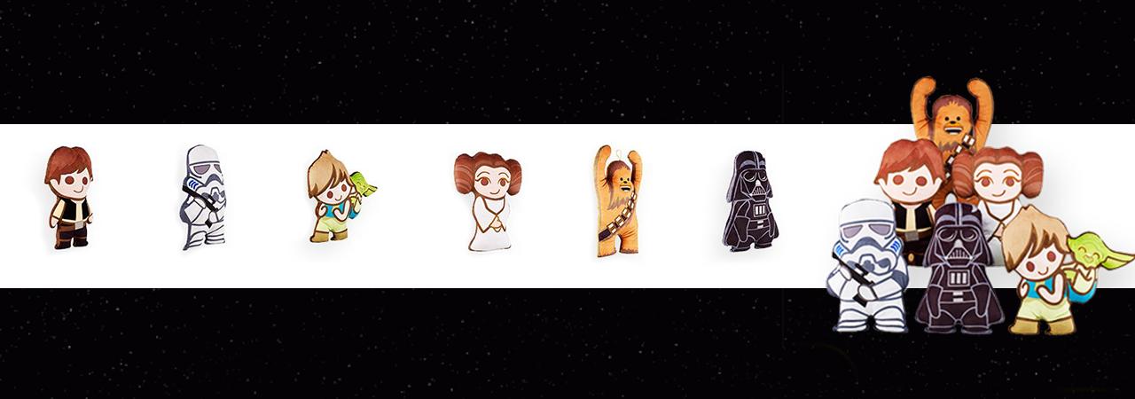 coussins Star Wars