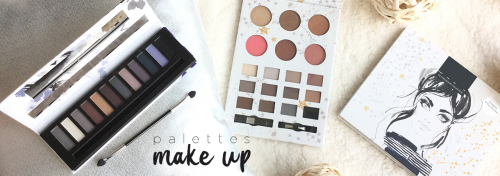 palettes maquillage