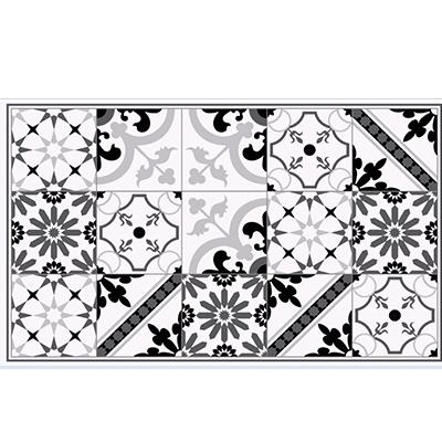 tapis en vinyle ciment