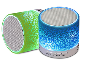 enceinte bluetooth portable couleur lumineuse
