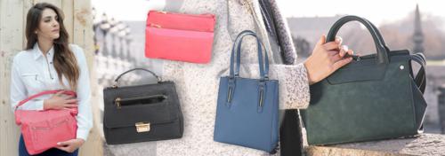 sacs et petite maroquinerie d'une marque française