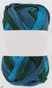 fil à tricoter tricoloré