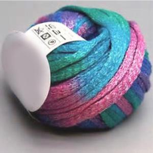 fil à tricoter de couleur