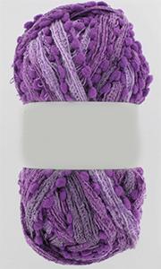 fil à tricoter violet