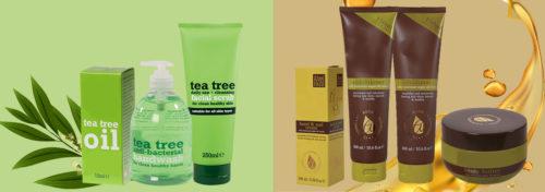 produits argant ou tea tree