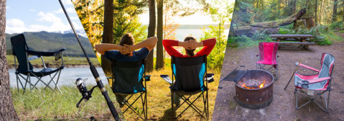 chaises de camping
