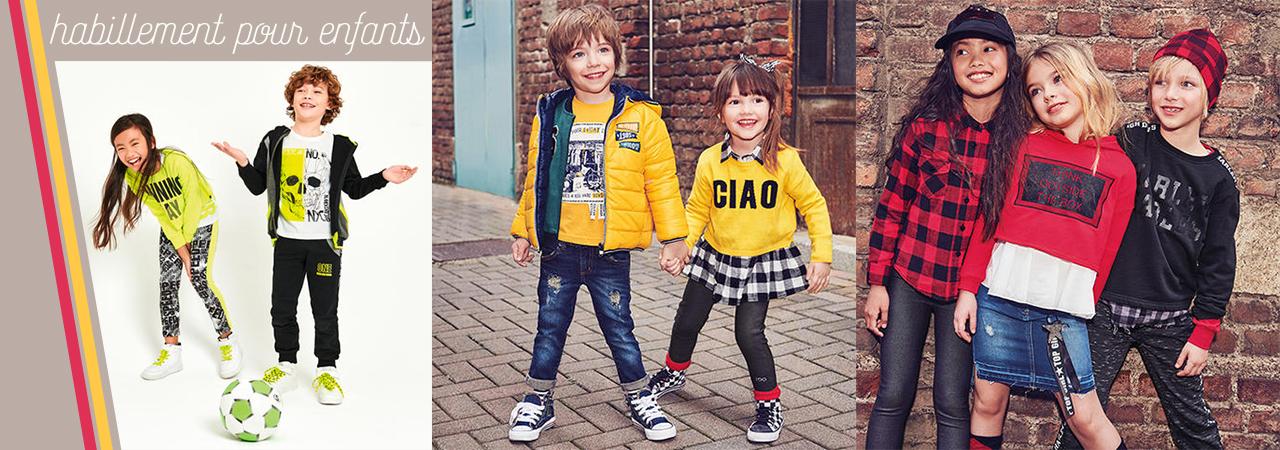 habillement enfants