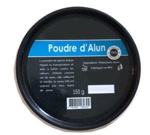 poudre d'Alun