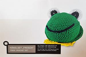 crochet grenouille