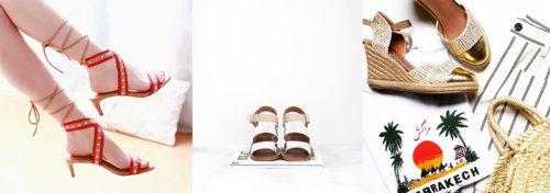 sandales de créatrice