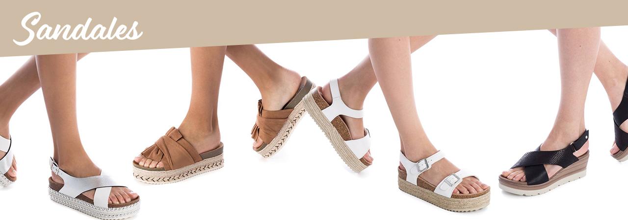 sandales tendance