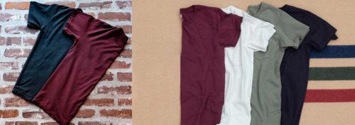 tee-shirts américains pour homme