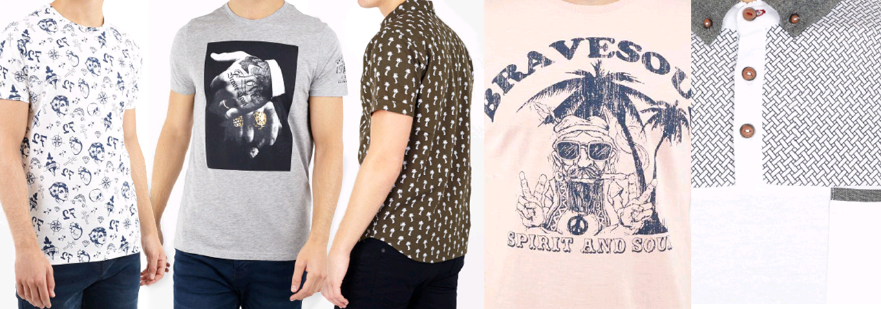 Chemises, polos et tee-shirts pour hommes