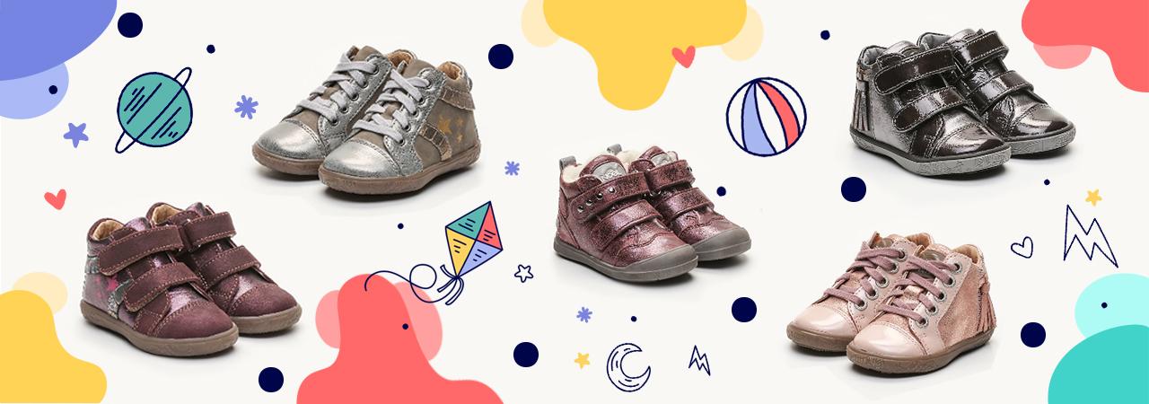 Chaussures pour bébés et enfants