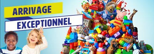 découvrez un arrivage exceptionnel de jouets à prix NOZ !