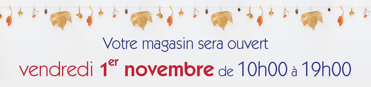 BAndeau Toussaint 1 Nov tous mag