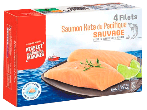 FILETS DE POISSON SURGELÉS