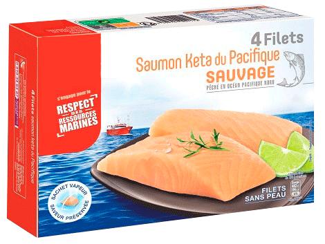 FILETS DE POISSON SURGELÉS