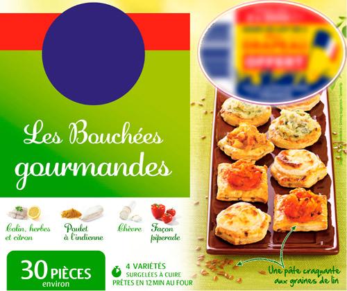 BOUCHÉES GOURMANDES SURGELÉES