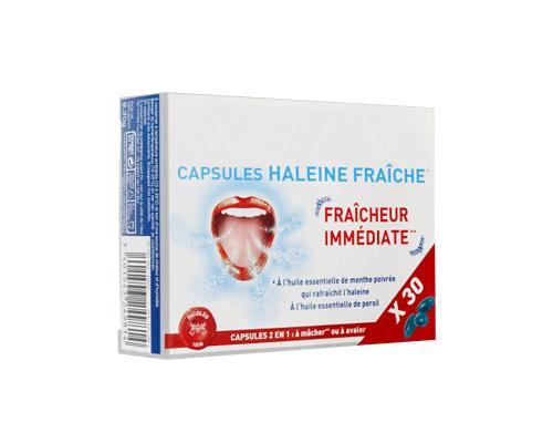 CAPSULES HALEINE FRAÎCHE
