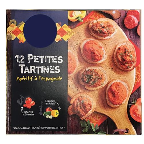 PETITES TARTINES SURGELÉES