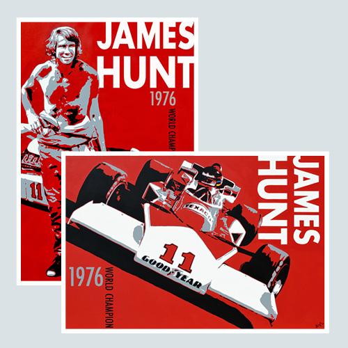POSTER JAMES HUNT